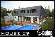Family House 09 3d model