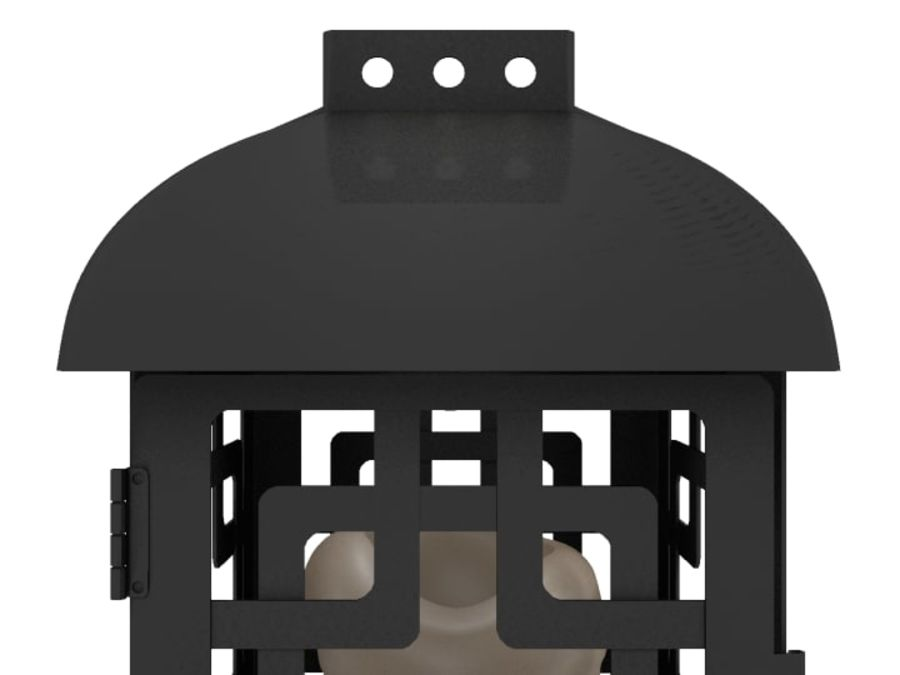 Lantern with Candle royalty-free 3d model - Preview no. 20