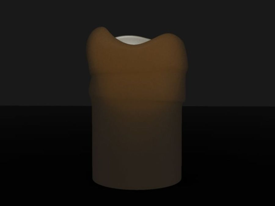 Lantern with Candle royalty-free 3d model - Preview no. 31