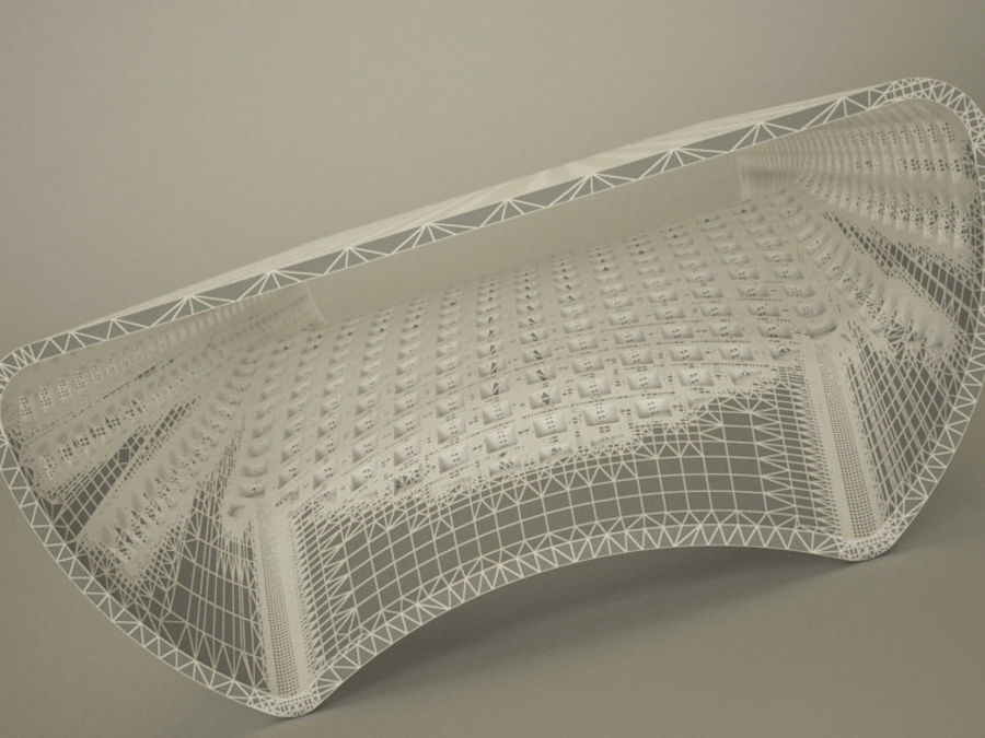 NORDSK VOCK CENTERBORD 2012 royalty-free 3d model - Preview no. 8