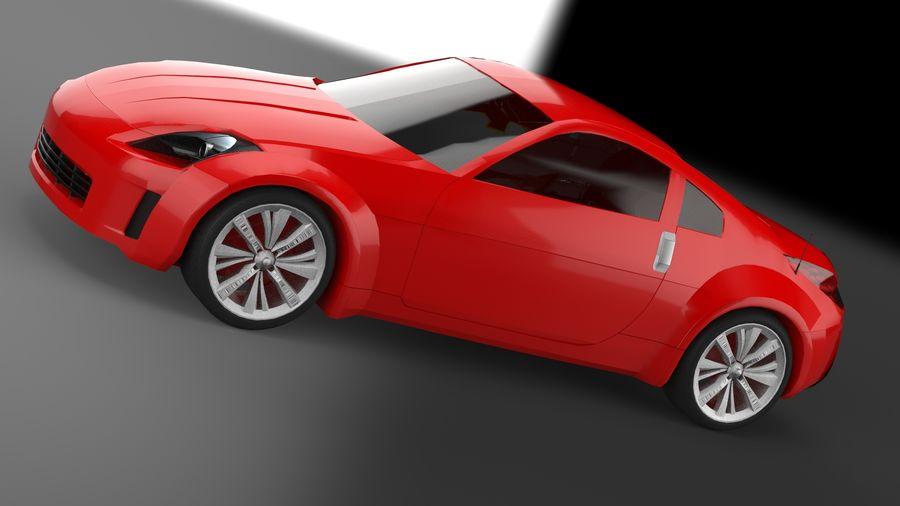 Nissan 350z royalty-free 3d model - Preview no. 11