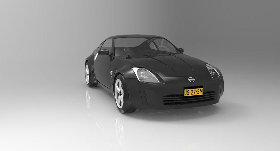 Nissan 350z royalty-free 3d model - Preview no. 1