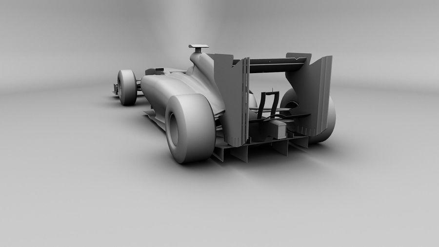 Voiture Formule 1 Fantasy royalty-free 3d model - Preview no. 5