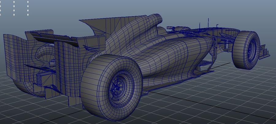 Voiture Formule 1 Fantasy royalty-free 3d model - Preview no. 1
