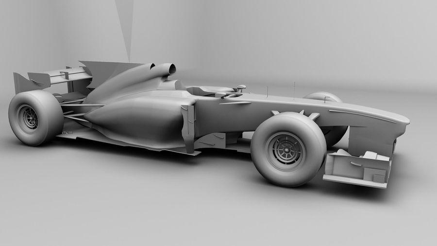 Voiture Formule 1 Fantasy royalty-free 3d model - Preview no. 3