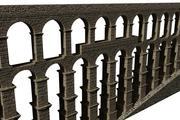 Roman aqueduct of Segovia 3d model