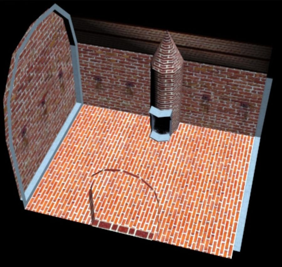 Torture Chamber royalty-free 3d model - Preview no. 15