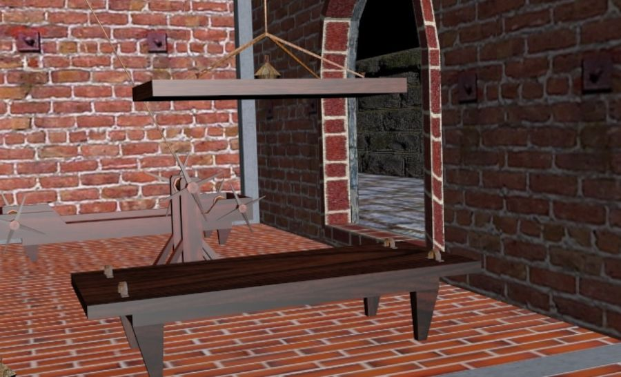 Torture Chamber royalty-free 3d model - Preview no. 18