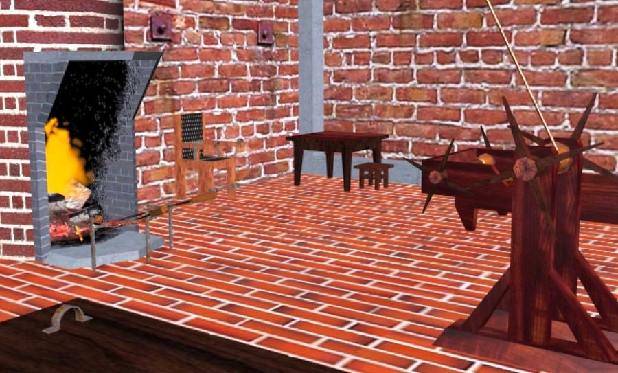 Torture Chamber royalty-free 3d model - Preview no. 14