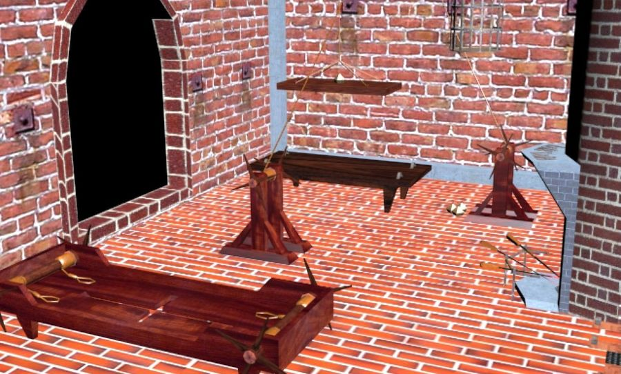 Torture Chamber royalty-free 3d model - Preview no. 13