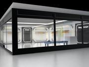 Armani Geschäft 3d model