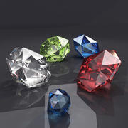 Diamant 3d model