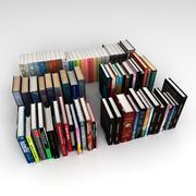 BookSet 02 3d model
