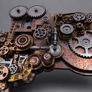 Mecanismo modelo 3d