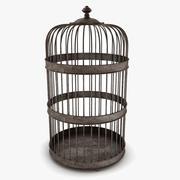 鸟笼装饰 3d model