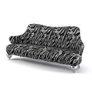 Скульптурный диван Тейлор Ллоренте PL2300 3d model