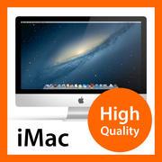 Apple iMac 27 nieuwste nieuwe 2017 2016 2015 2014 2013 2012 3d model