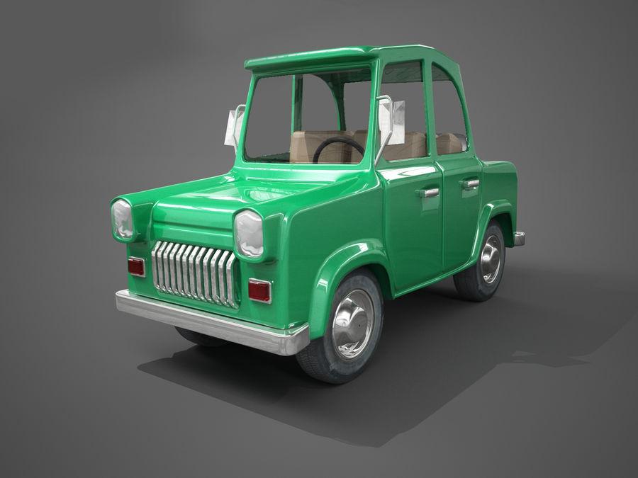 Carro de desenho animado royalty-free 3d model - Preview no. 1