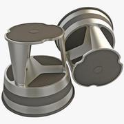 Rolling Step Stool 3d model