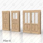 Portes de marché 3d model