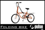 Bicicletta pieghevole 3d model