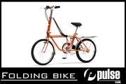 折りたたみ自転車 3d model
