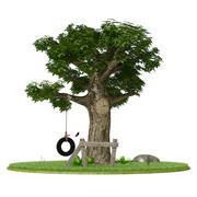 Träd 3d model
