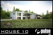 Family House 10 3d model