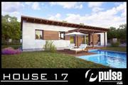 Family House 17 3d model