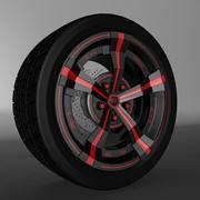 Car Rim OZ 3d model