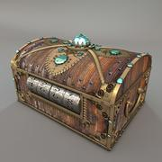 GoldChest 3d model