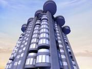 城市建筑设计 3d model
