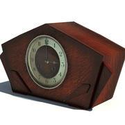 アンティークマントル時計 3d model