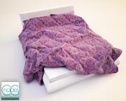 Blankets Bed 10 3d model
