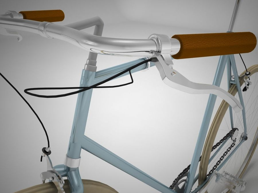 自転車 royalty-free 3d model - Preview no. 4
