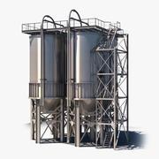 工業用タンク 3d model