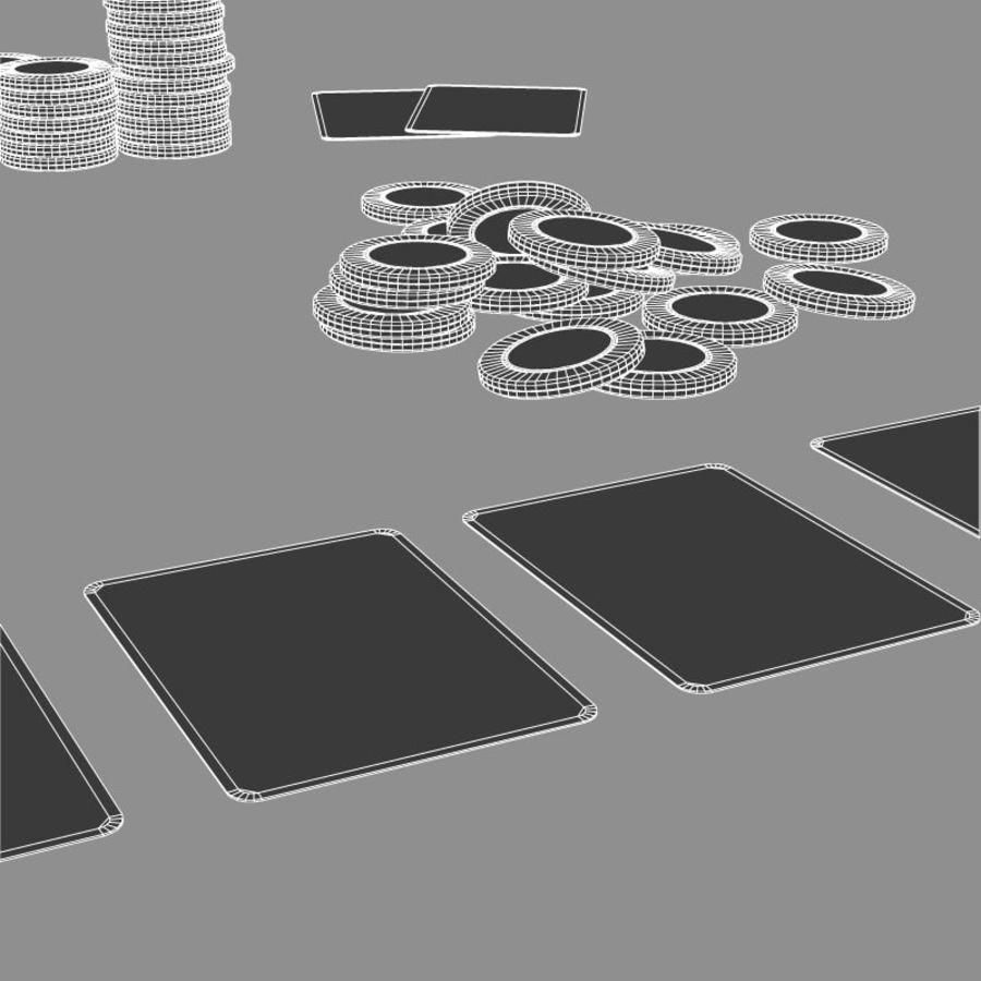 Graj w karty i karty royalty-free 3d model - Preview no. 5