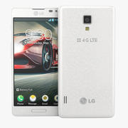 LG Optimus F7 Smartphone 3d model