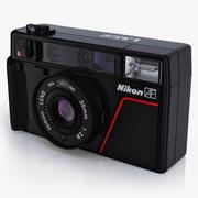 Gammal fotokamera Nikon L35 AF 3d model