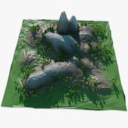 Paesaggio Low Poly 3d model