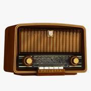 Philetta Radio 3d model