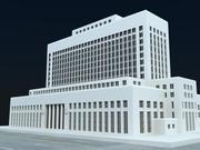 LA Court House 3d model