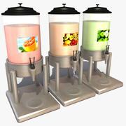 Distributeur de boissons froides 3d model