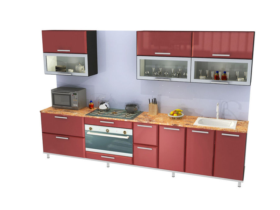 Variations Of Kitchens 3d Model 29 Max Free3d