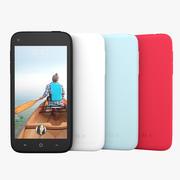 HTC First Facebook Smartphone 2013 3d model