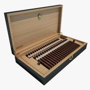 Schachtel mit Zigarren 01 3d model