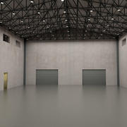 Warehouse interior 3d model 3d model