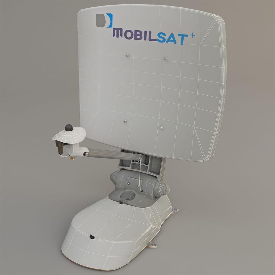 Satellitenantenne MobilSat royalty-free 3d model - Preview no. 3