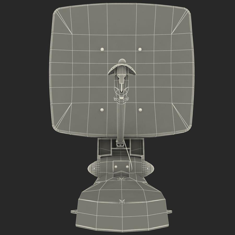 Satellitenantenne MobilSat royalty-free 3d model - Preview no. 17