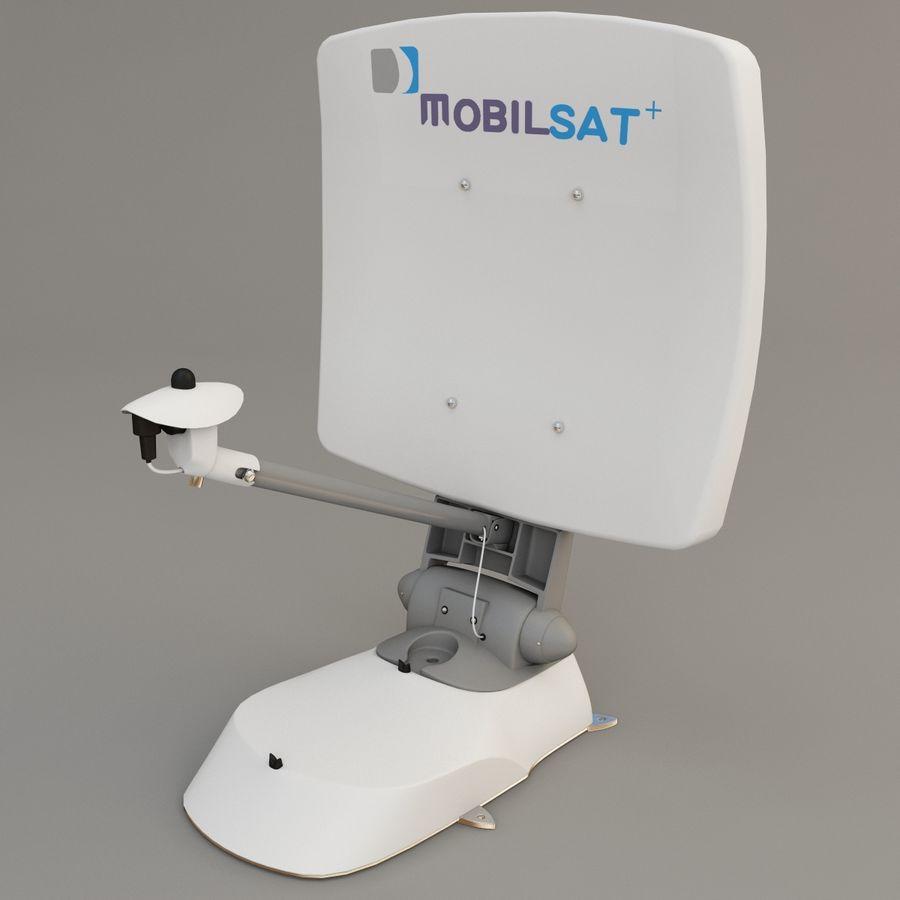 Antena satelitarna MobilSat royalty-free 3d model - Preview no. 4
